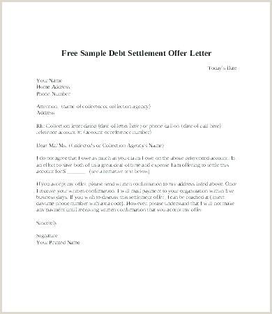 settlement letter template