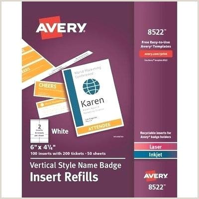 Avery Badges New Templates For Name 8395 Self Adhesive