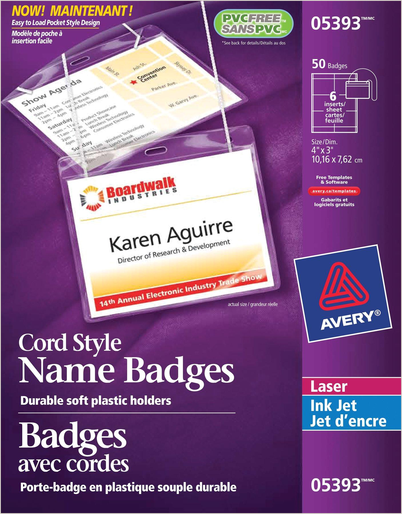 Avery Badge Template – Gallery