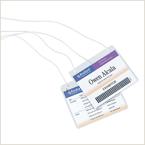 Avery 74461 Template Avery Id Lanyard Name Tag Holder 100 Badges Per Pack 2
