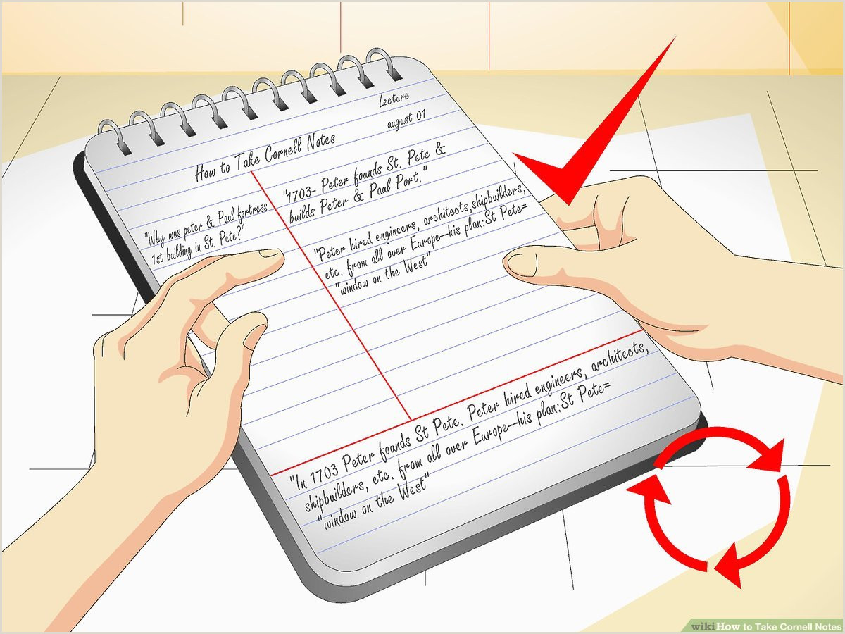 How to Take Cornell Notes with wikiHow