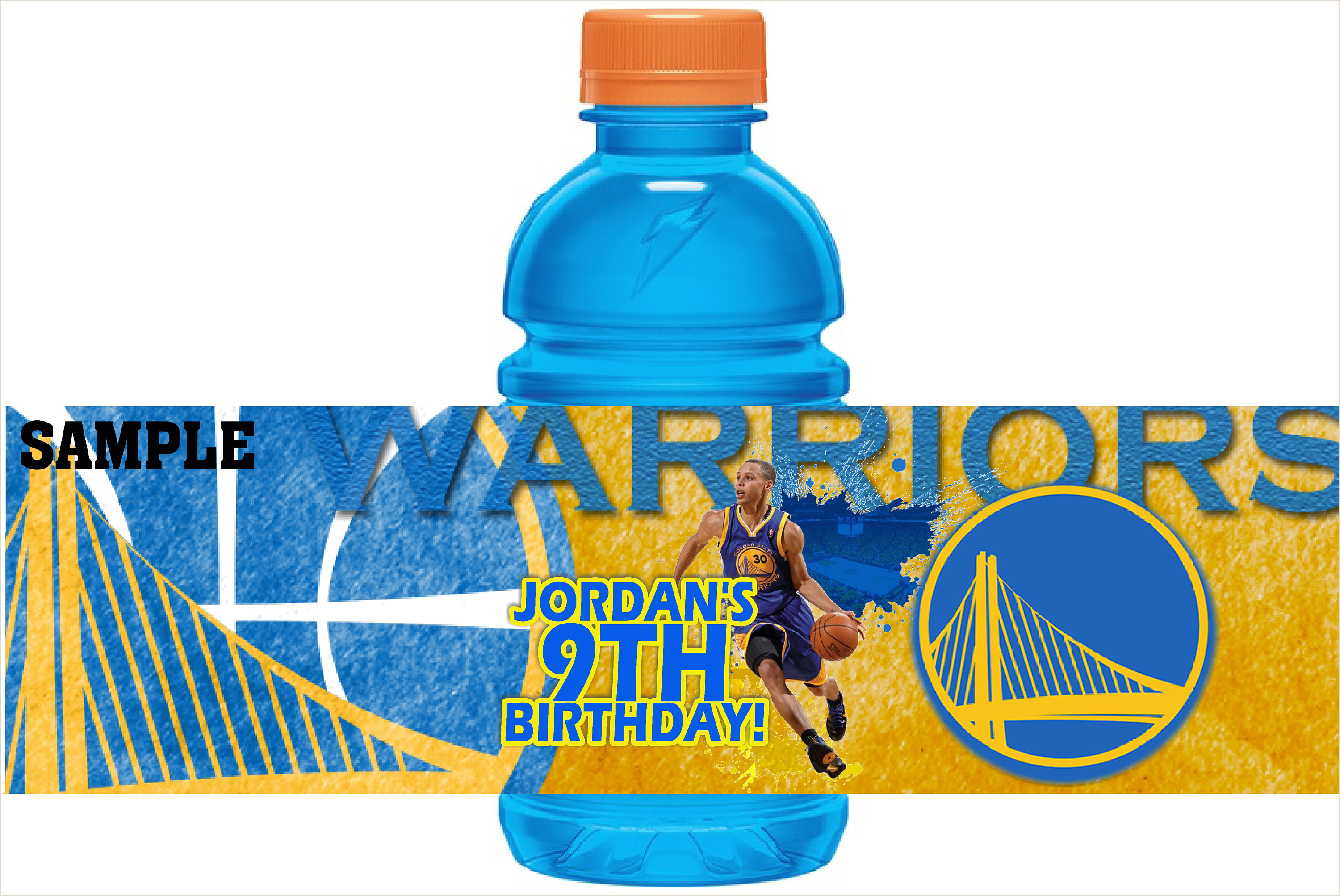 Ayesha Curry Wedding Ring Printable Gatorade 12 Oz Labels Basketball Golden State Warriors Stephen Curry Birthday Party