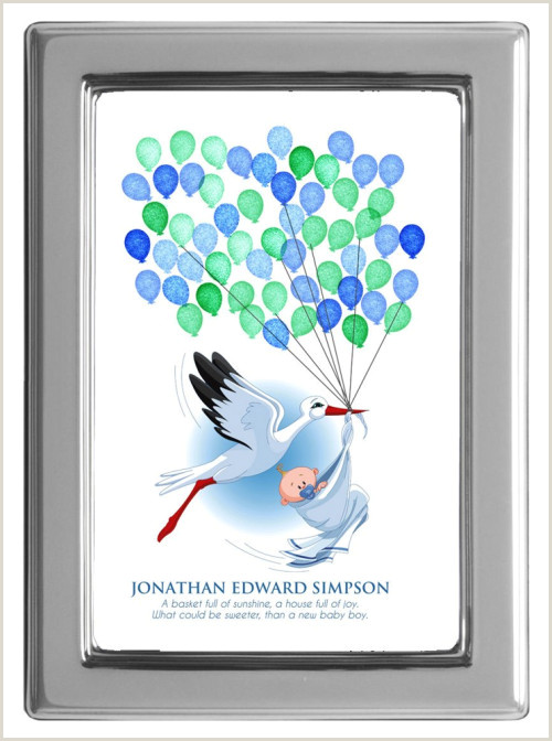 Baby Shower Guest Book Printable Baby Shower Fingerprint Guest Book Fingerprint Guest Book Stork with
