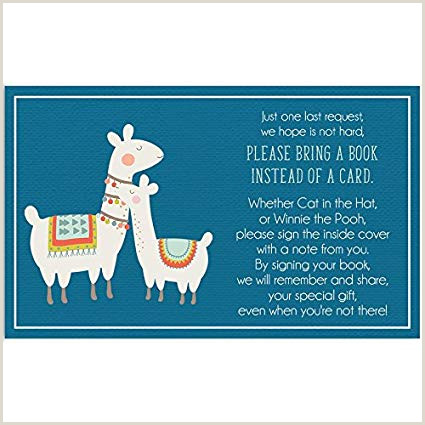 Amazon Bring A Book Cards Baby Shower Invitation Book