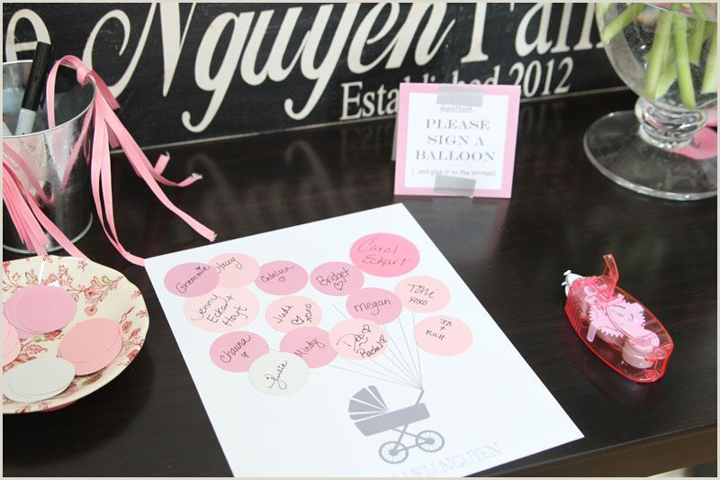 Baby Shower Guest Sign In Diy Baby Shower Guestbook Baby Shower Ideas