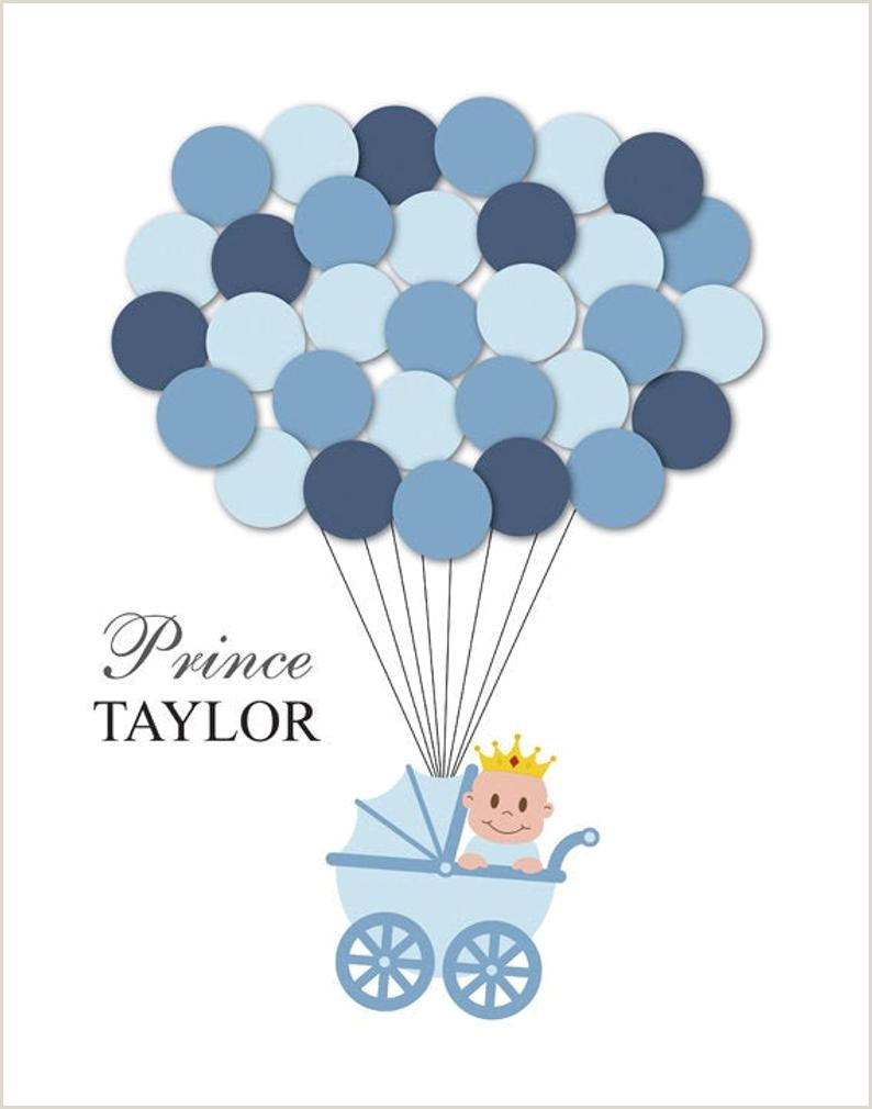 Baby Shower Guest Sign In Prince Baby Shower Guest Book Alternative Guest Sign In Ideas Blanket Balloons Poster Print Guest Sign Personalized Little Prince Crown King
