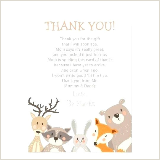 Baby Shower Thank You Sayings for Favors Thank You Card Sayings for Baby Shower Cards Wording Gift