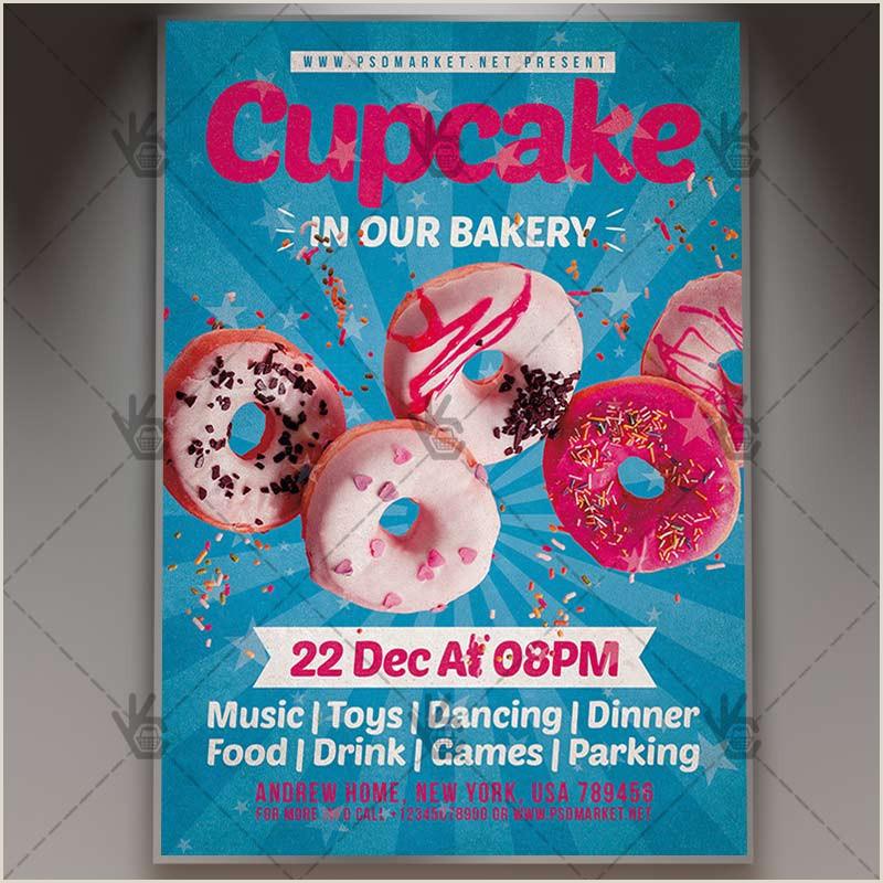 Cupcake Poster Template