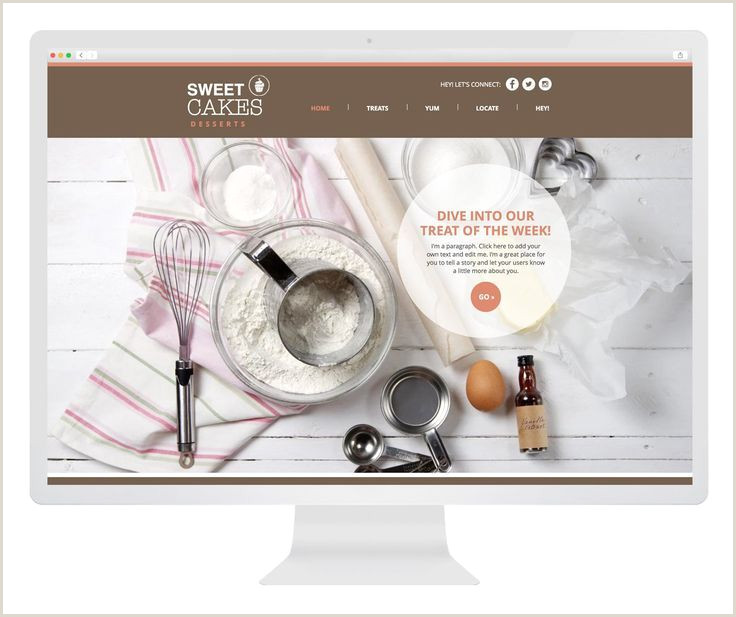 Bakery Website Template Free Weebly Website – Start A Business Empire for Free
