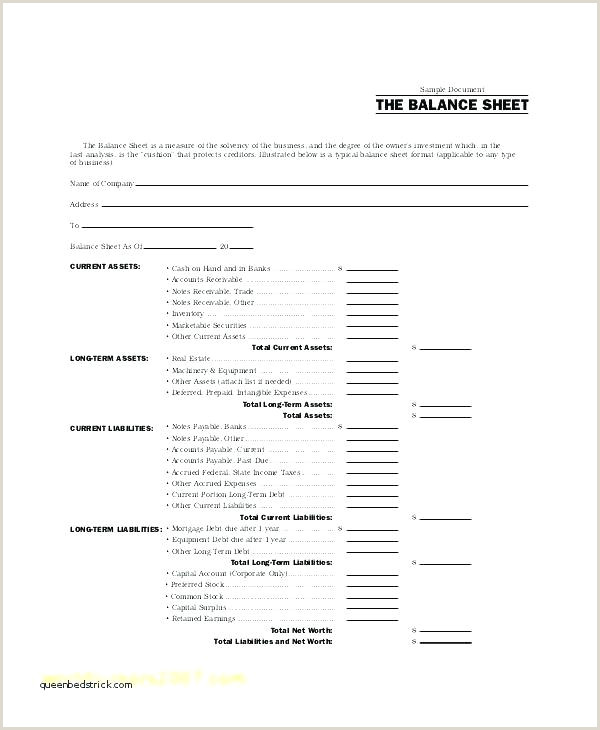 Balance Sheet Excel Template A Guide to Balance Sheet format Excel Excellent – Balance Sheet