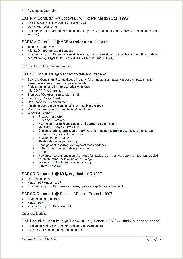 Job Application Template Pdf Inspirational Cv format Pdf