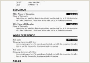 Bangladeshi Standard Cv format Sample Resume Pdf Sample Edit Resume Pdf Line Inspirational