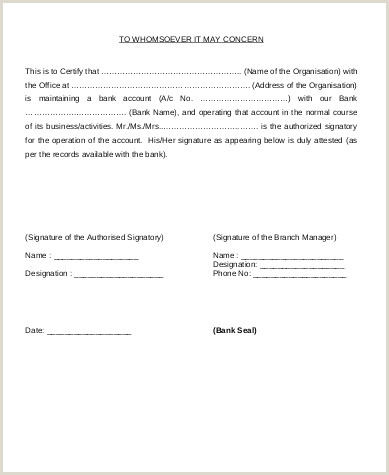 Bank Account Verification Letter Sample Signature Verification Letter format for Sbi Bank Fresh