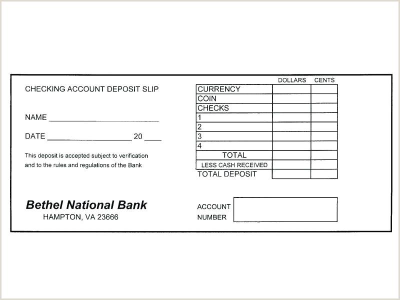 Bank Deposit Slips Template Free Blank Deposit Slip Template Free Calendar Specialization