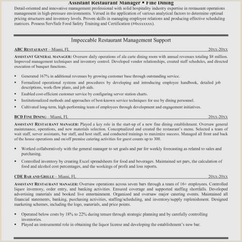 Inventory Control Manager Resume Unique Warehouse Manager