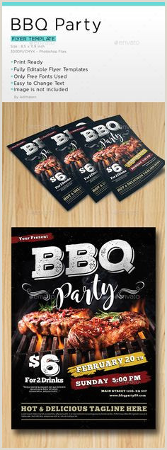 Barbeque Flyer Templates Free 41 Best Grilling Ads Images