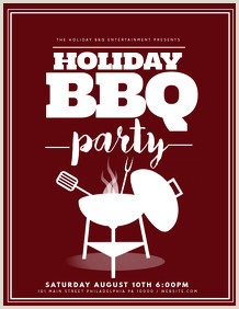 Barbeque Flyer Templates Free Free Bbq Flyer Templates Create In Minutes