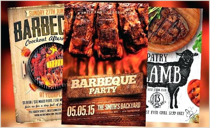 Barbeque Flyer Templates Free Tasty Flyer Templates for Summer Barbecue Bbq Party Template