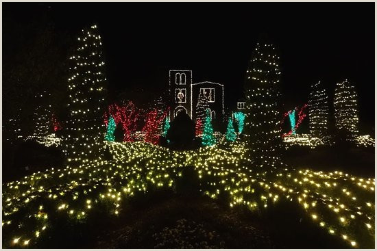 Christmas Lights Picture of Barnsley Resort Adairsville