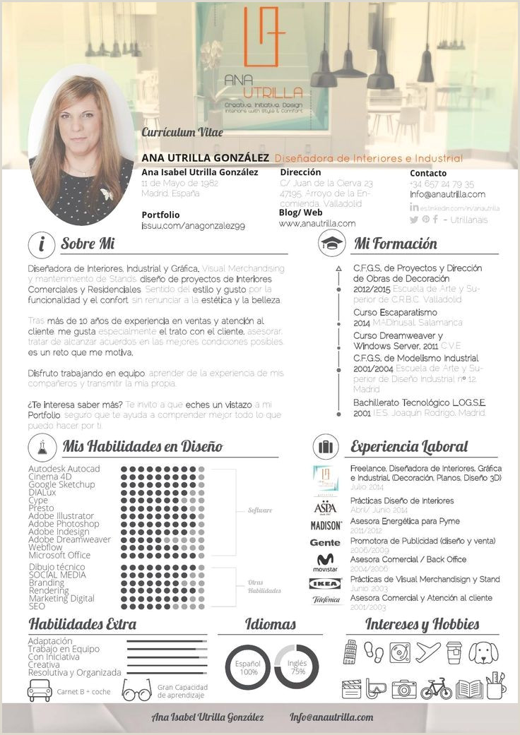 Base Curriculum Vitae Para Rellenar Heather Hamilton