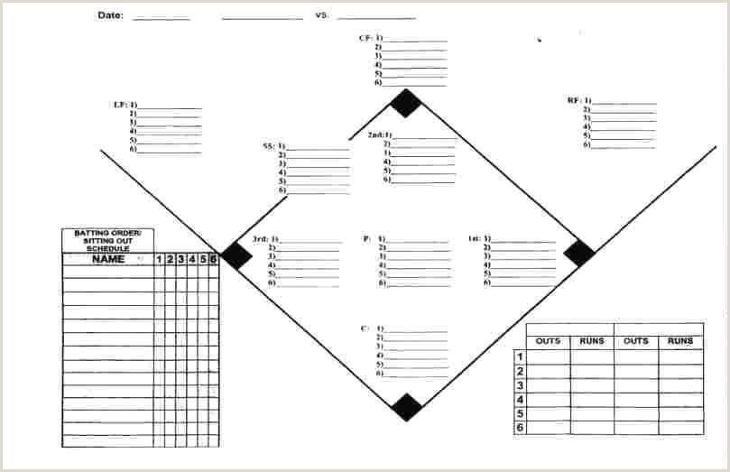 Baseball Depth Chart Template Excel Scouting Report Meaning