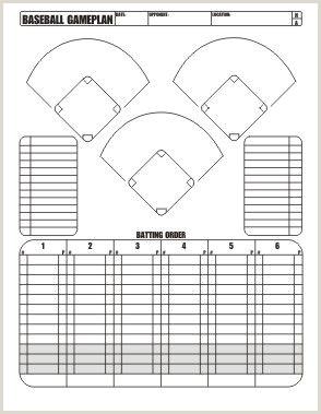Baseball Position Chart Printable Free Download Little League Baseball Game Plan