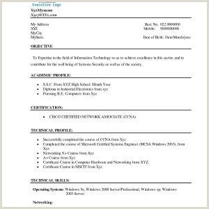 Bca Fresher Resume Format Pdf Sample Resume Format For Bca Freshers New Cv Resume Bca New
