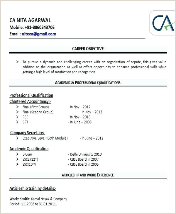 Bcom Fresher Resume Format Download In Ms Word Resume Format Fresher – Englishor
