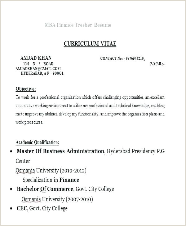 Bcom Fresher Resume Sample Doc Download Resume Format Fresher – Englishor