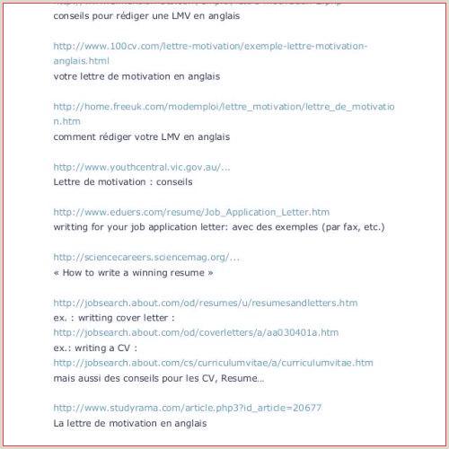 Lettre Pour Cv Cv Sans Luxe Simple Job Resume Examples Best
