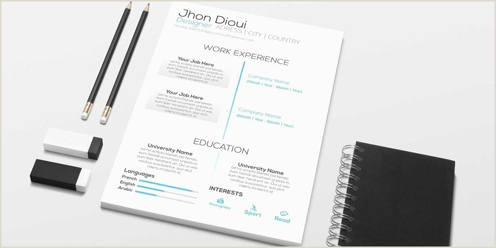 Modern Resume Template Free Best Free Creative Resume