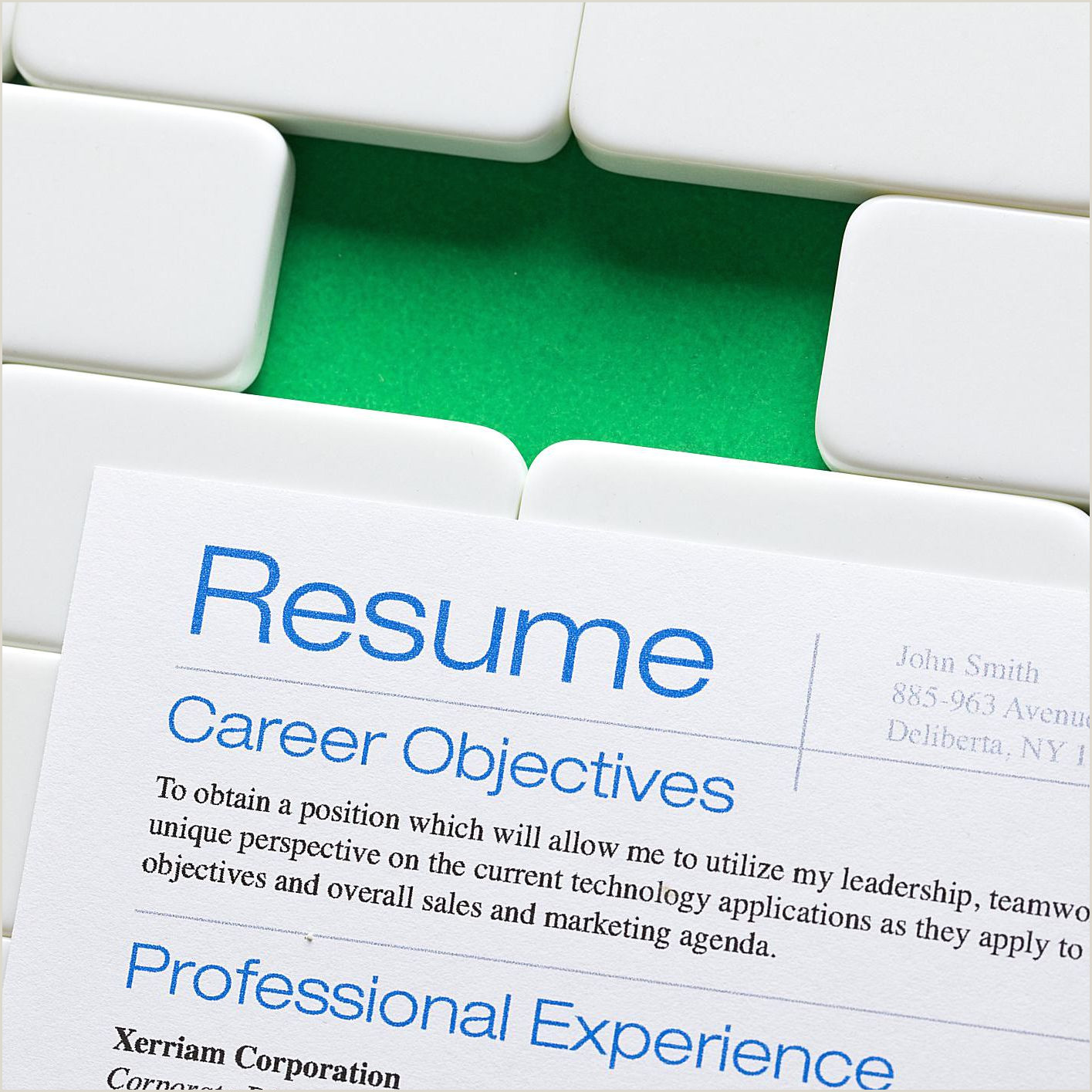 Top 15 Things You Can Leave f Your Resume