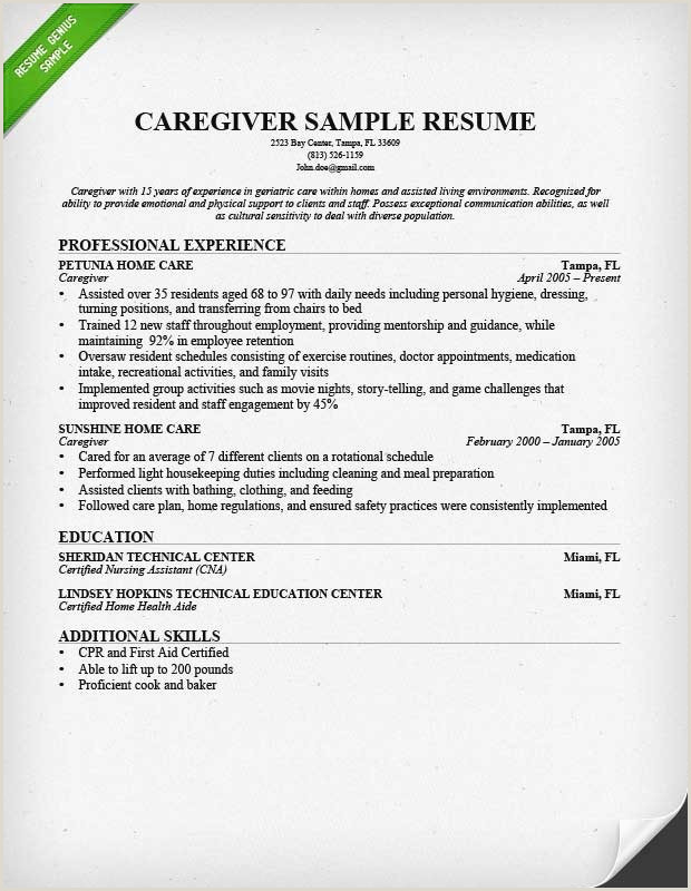 40 Unique Typical Resume