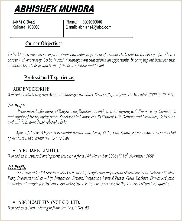 Best Resume format for Job Pdf Download College Student Resume for Internship Sample Download Best