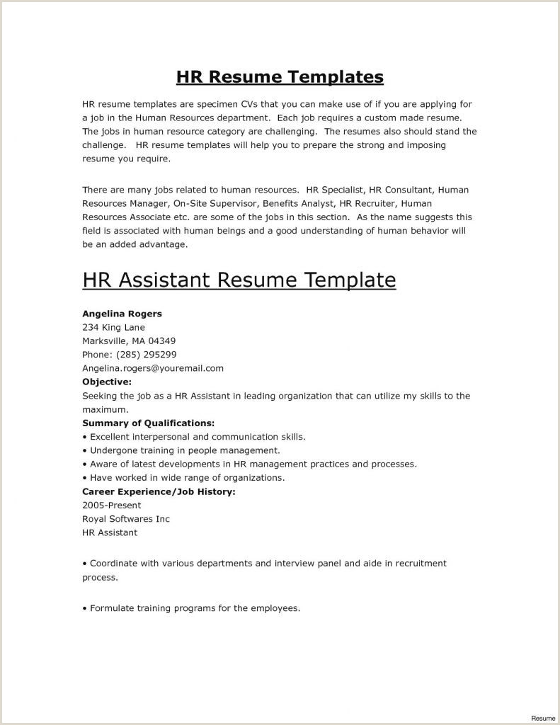 Sample Resume Malaysia Pdf New Blank Resume Template Pdf