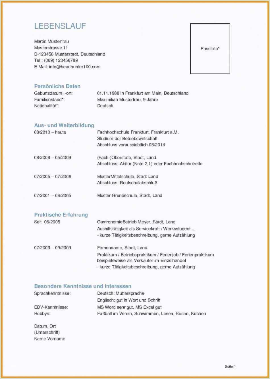 Bewerbung Und Lebenslauf Muster Word Basic Lebenslauf Hobbys Erzieher Bewerbungsschreiben Für