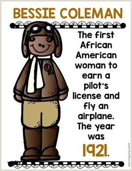 Black History Month Posters for Kindergarten and First Grade