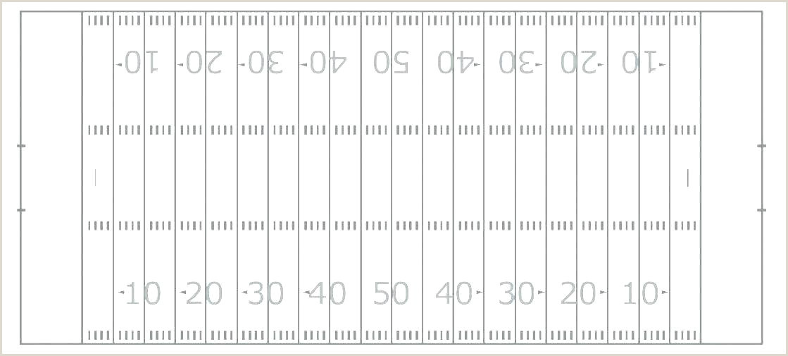 Football Play Diagram Template X Chart Blank Field Layout