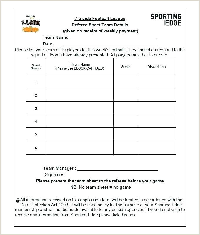 Play Sheet Beautiful Football Template Ideas Themes Blank
