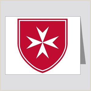 Maltese Cross Stationery CafePress