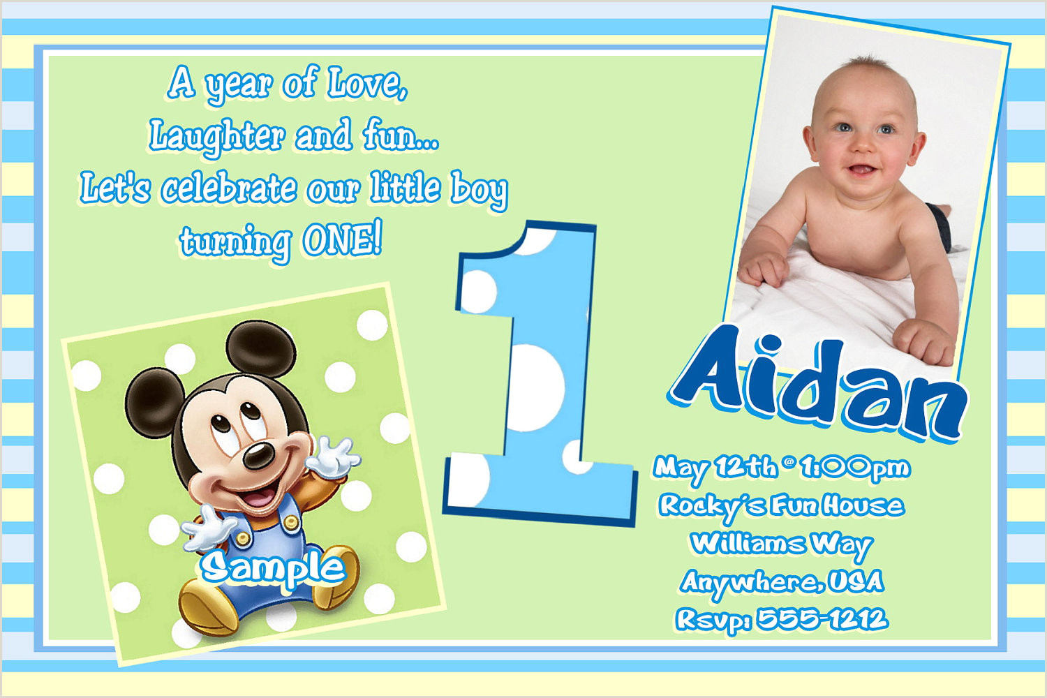 Blank Mickey Mouse Clubhouse Invitations Mickey Mouse Clubhouse Invitations Template Awesome 2