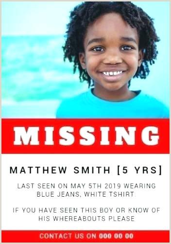 missing poster example ks2 – dstic