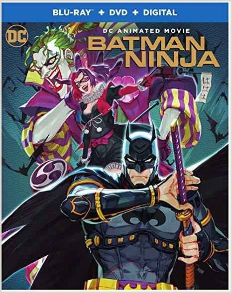 Blank Pay Check Amazon Batman Ninja Blu Ray Dvd Koichi Yamadera
