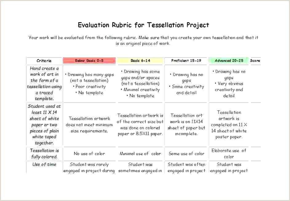 analytic rubric template