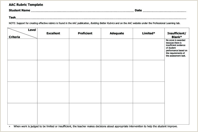 Blank Rubric Template Doc Blank Rubric Template Word – theredteadetox