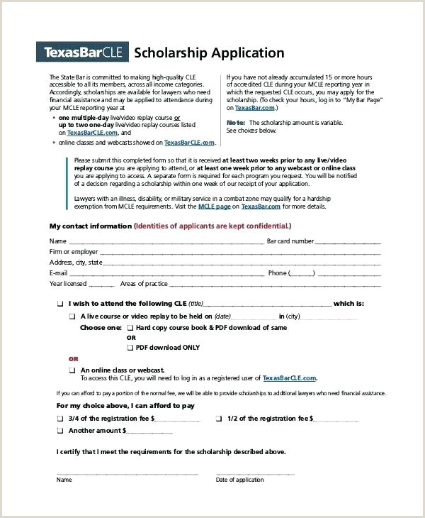 Blank Scholarship Application Template A Blank Scholarship Application Template Templates In Pdf