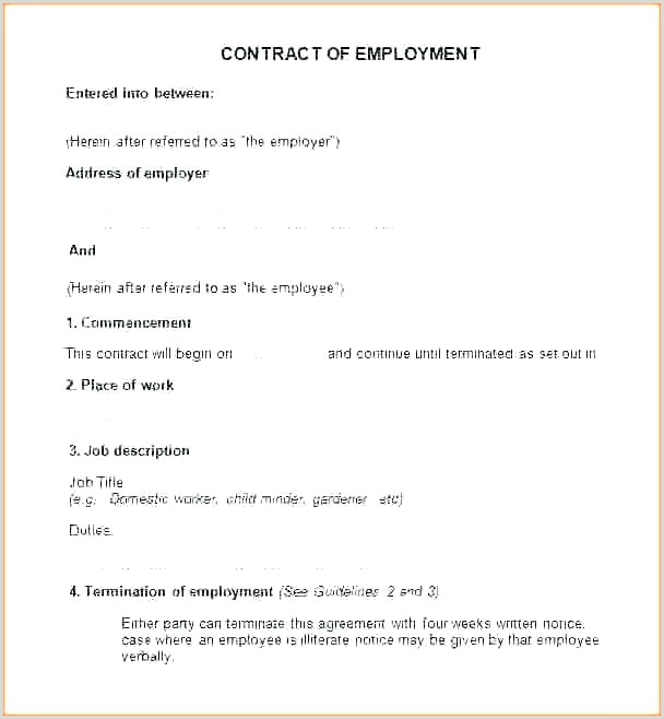 Employment Application Template Blank Job Form Free Download