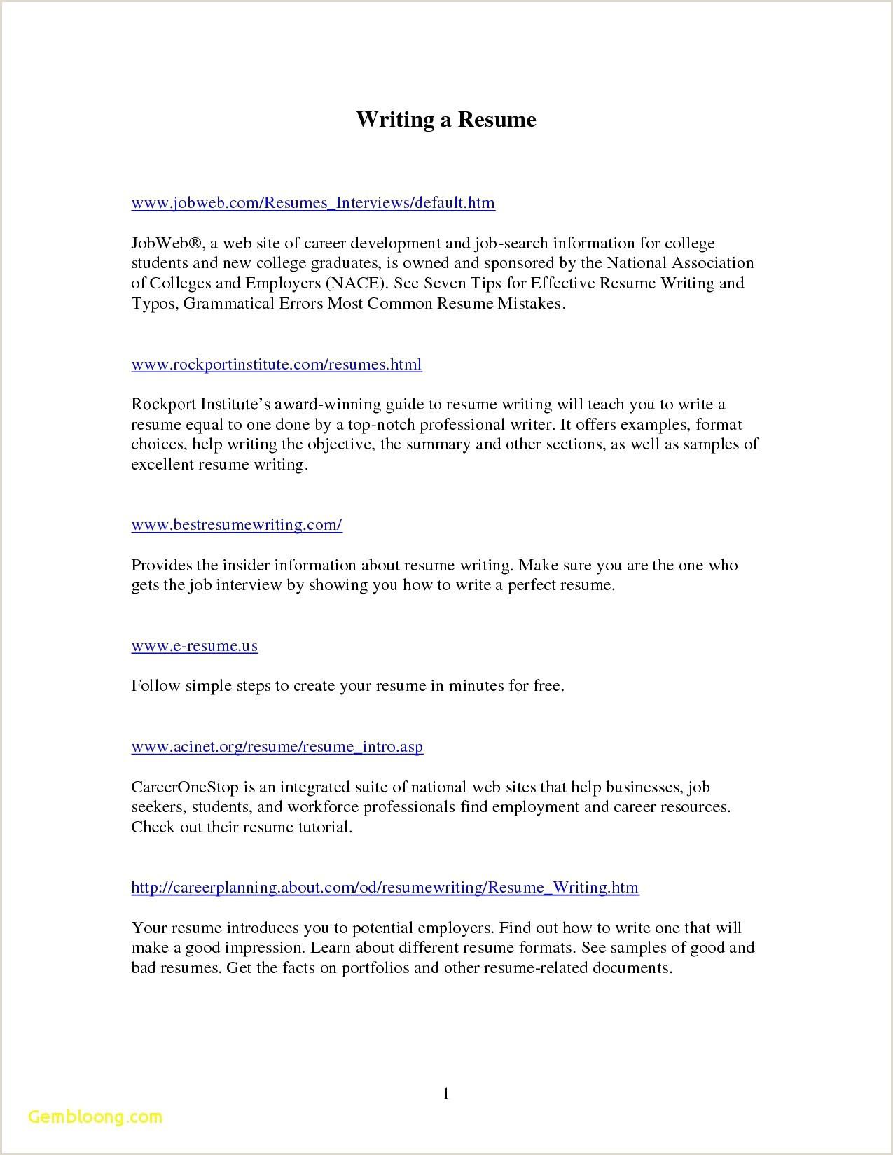 Blank Standard Cv format Pdf 25 Examples Blank Resume format
