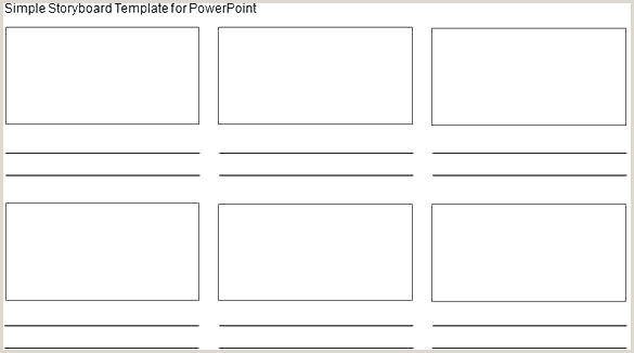 Storyboard Template 6 Panel Simple Ks1 Writing