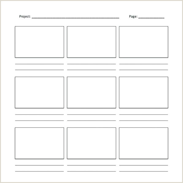 Storyboard Template To Print Music Blank Storyboards To